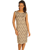 Jones New York - Space Dye Jacquard Extended Shoulder Dress