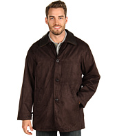 Rainforest - Micro Suede Twill Zip Out Down Car Coat
