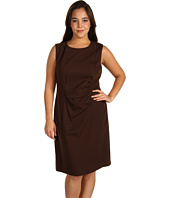 Jones New York - Plus Size Ponte Sleeveless Sheath Dress
