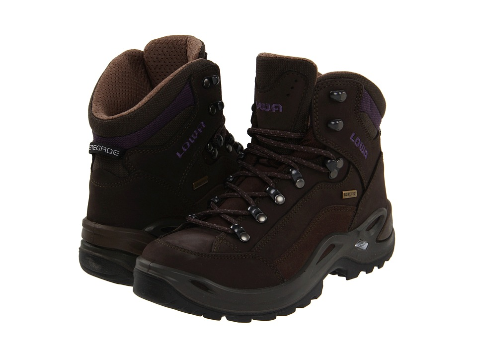 Lowa - Renegade GTX Mid WS (Slate/Eggplant) Womens Hiking Boots