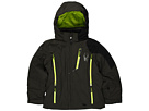 Spyder Kids - Boy's Avenger Jacket (Big Kids) (Peat/Black/Sharp Lime) - Apparel