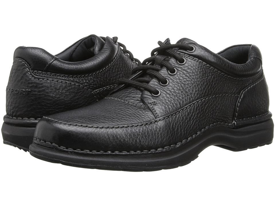 Rockport World Tour Elite Encounter (Black Tumbled Leather) Men
