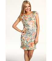 Tahari by ASL - Timothy Floral Sequin Sheath Dress