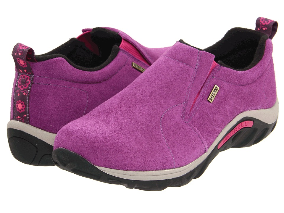 Merrell Kids - Jungle Moc Frosty Waterproof 2 (Toddler/Little Kid/Big Kid) (Wineberry) Girls Shoes