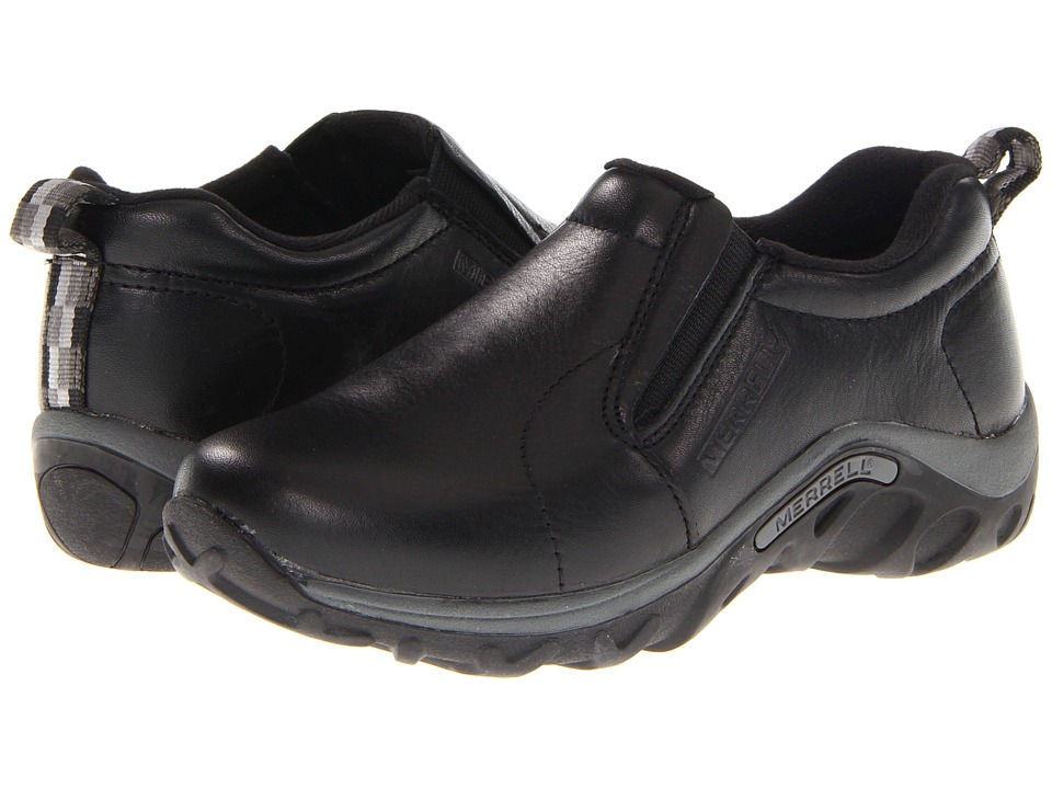 Merrell Kids - Jungle Moc Leather (Toddler/Little Kid/Big Kid) (Black) Boys Shoes