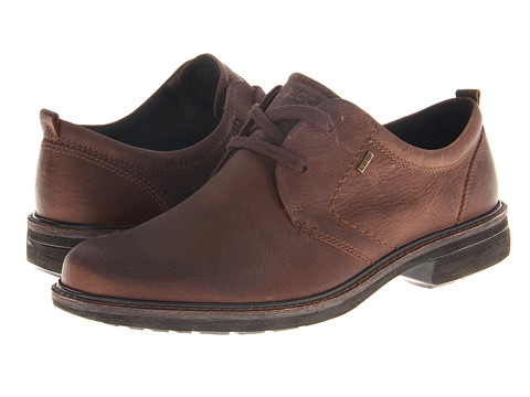 ECCO - Turn GTX Tie (Cocoa Brown) - Footwear