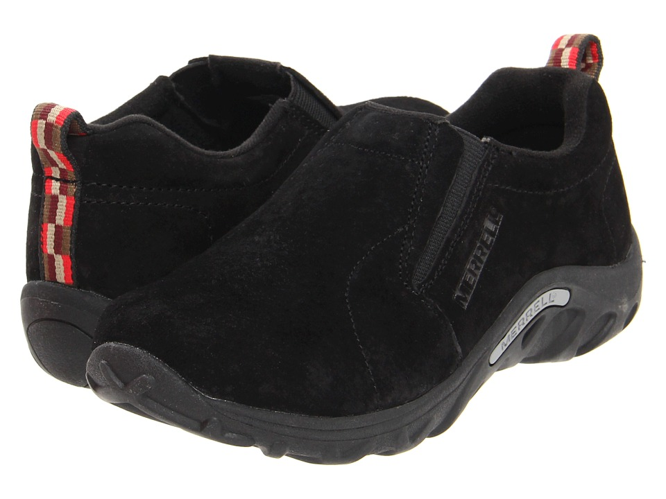 Merrell Kids Jungle Moc (Toddler/Little Kid/Big Kid) (Black) Kids Shoes