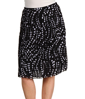 Jones New York - Petite Pleated Short Skirt