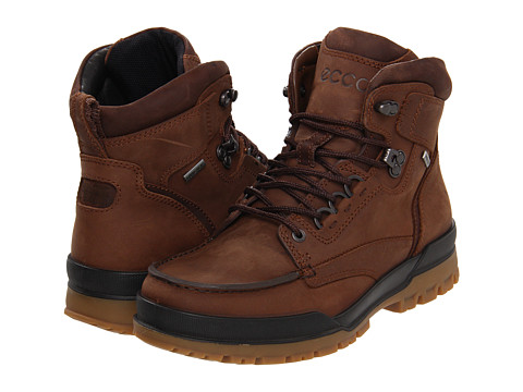 ECCO Track 6 GTX Moc Toe Boot - Bison/Birch