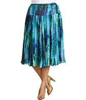 Jones New York - Plus Size Seamed Skirt w/ Self-Tape