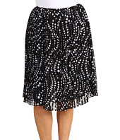 Jones New York - Plus Size Pleated Short Skirt