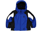 Spyder Kids - Mini Guard Jacket (Toddler/Little Kids) (Just Blue/Black/White) - Apparel