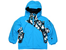 Spyder Kids - Mini Armageddon Jacket (Toddler/Little Kids) (Coast/Coast Live Wire) - Apparel
