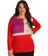 Jones New York - Plus Size 3/4 Sleeve Boatneck