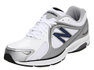 New Balance MW847 White, Navy Shoes