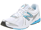 New Balance WW665 White, Blue Shoes