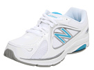 New Balance WW847 White, Blue Shoes
