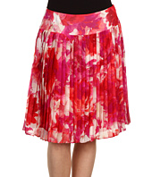 Jones New York - Petite Print Knife Pleat Skirt