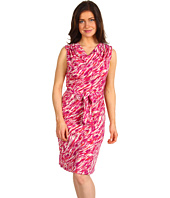Jones New York - Petite Drape Neck Dress