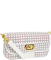 Adrienne Vittadini - Bianca Patent Perforated Small Shoulder