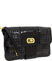 Adrienne Vittadini - Bianca Patent Perforated Large Shoulder