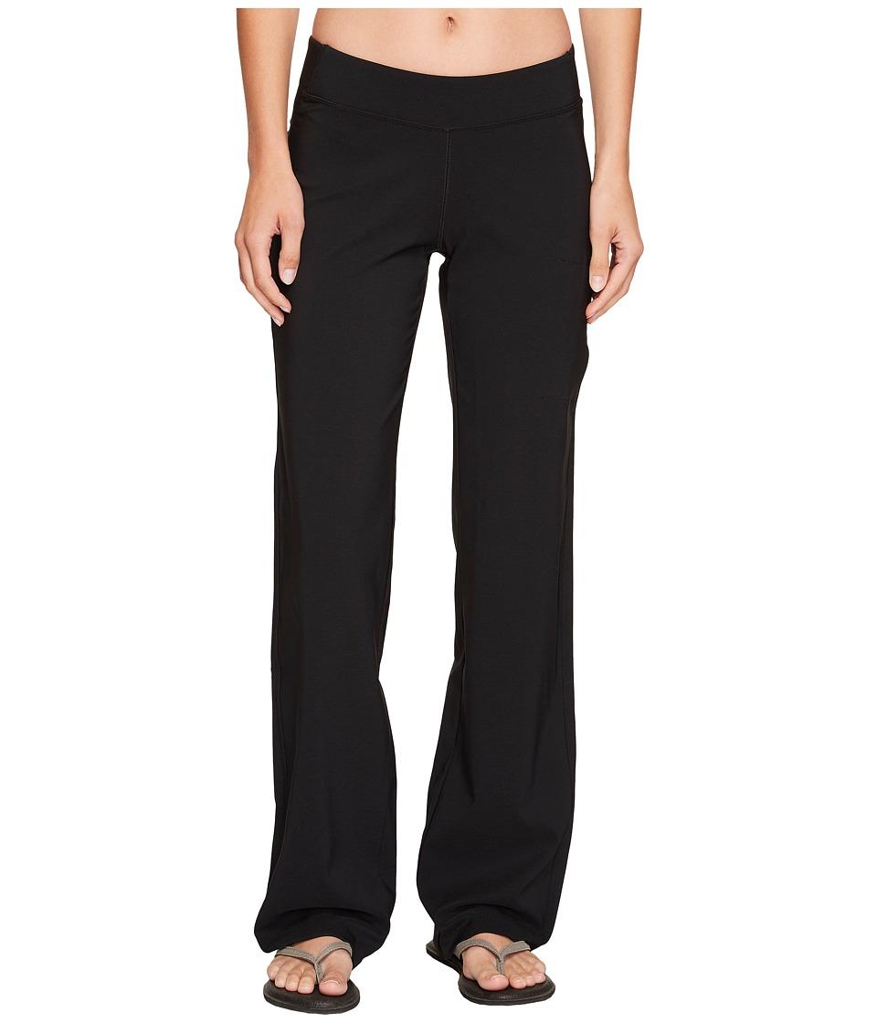 Columbia - Back Beautytm Straight Leg Pant (Black) Womens Clothing