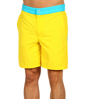 Faconnable - Swim Trunks in Yellow Multi
