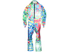 Spyder Kids - Girl's Performance GS Race Suit (Little Kids/Big Kids) (Mosaic Blue) - Apparel