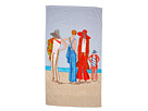 Home Source International - Vogue Archives Beach Pajamas Beach Towel (Multi) - Home