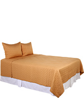 Home Source International - Brick Coverlet Set - Queen