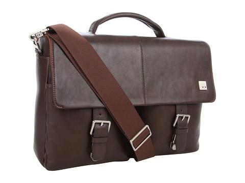 KNOMO London Jackson Top Handle Laptop Briefcase