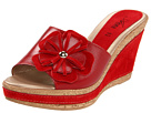 Spring Step - Narcisse (Red Leather) - Footwear