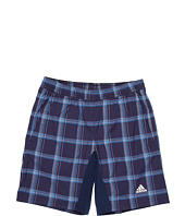 adidas Kids - Tennis Essentials Plaid Short (Little Kids/Big Kids)