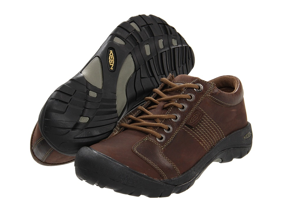 Keen Austin (Chocolate Brown) Men's Shoes