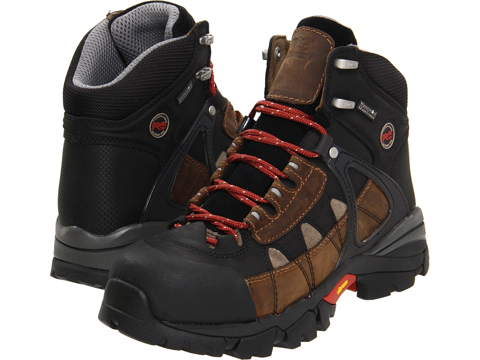 Timberland PRO - Hyperion WP XL Safety Toe (Brown) Mens Work Boots