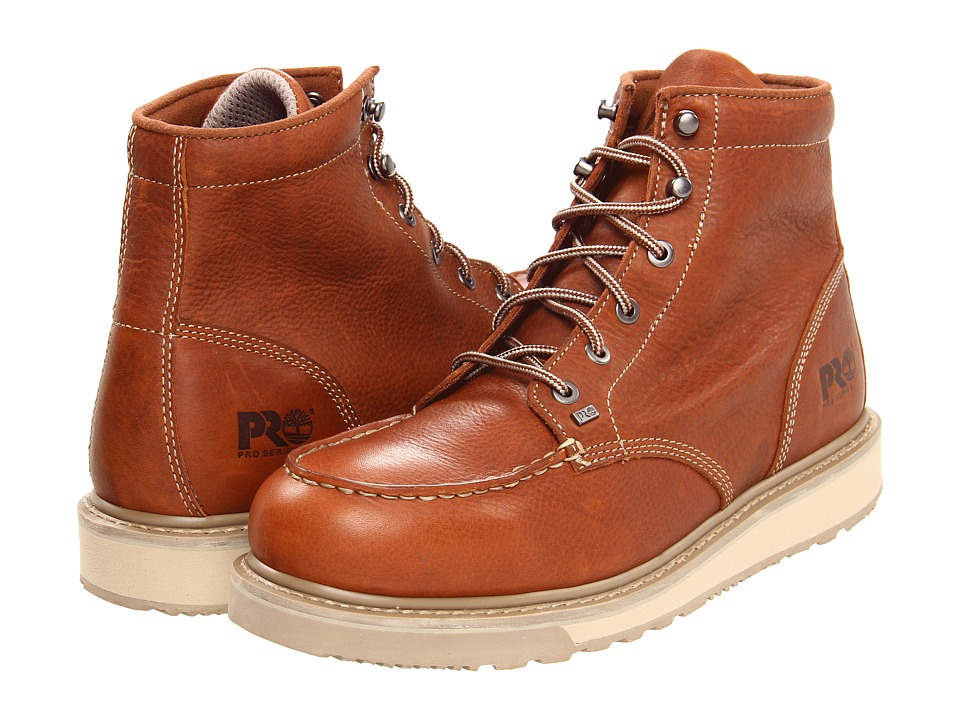 Timberland PRO Barstow Wedge Soft Toe (Rust) Men