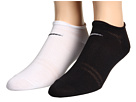 Nike - Training Studio No-Show 2-Pair Pack (White/(Black)/Black/(White))