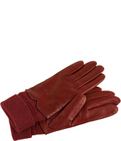 UGG - Heritage Logo Leather Glove