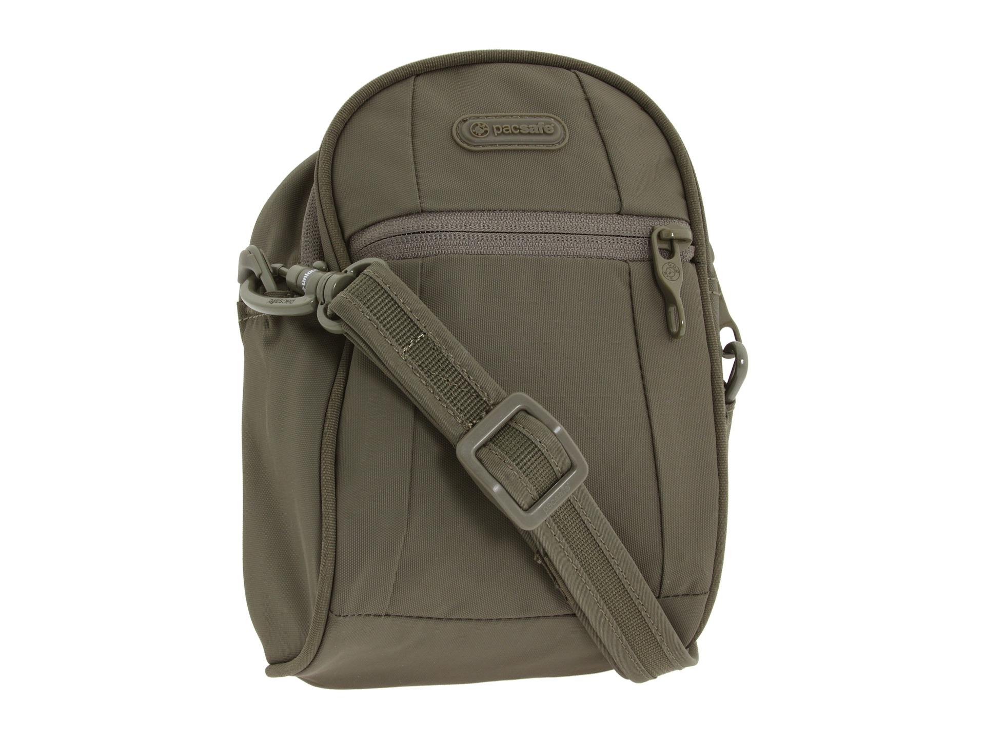 Pacsafe Metrosafe Hip Shoulder Bag Black 32