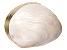 Rafe New York - Sirene Minaudieres Solid Shell (Polished White Scallop)