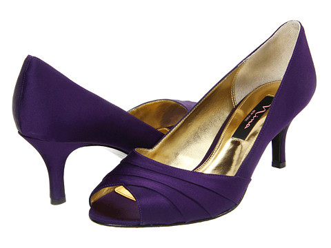 Purple Wedding Shoes Low Heel - Tbrb.info