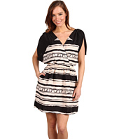 BCBGeneration - Tribal Colorblock Dress