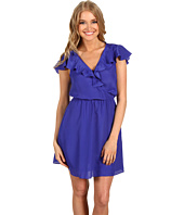 BCBGeneration - Ruffled-Yoke Dress