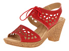 Spring Step - Lamay (Red Leather) - Footwear