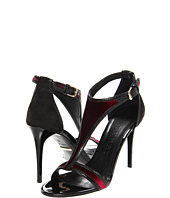 Burberry - Velvet and Suede Sandals