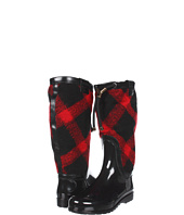 Burberry - Check Wool Weather Boots