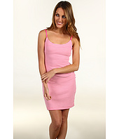 Betsey Johnson - Striped Tail Feather S/L Sheath Dress