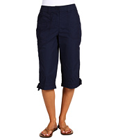 Jones New York - Cargo Crop Pant w/ Side Drawstring