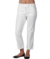 Jones New York - Petite Slim Leg Extended Tab Pant