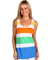 Jones New York - Petite Tunic Length Wide Tank Top